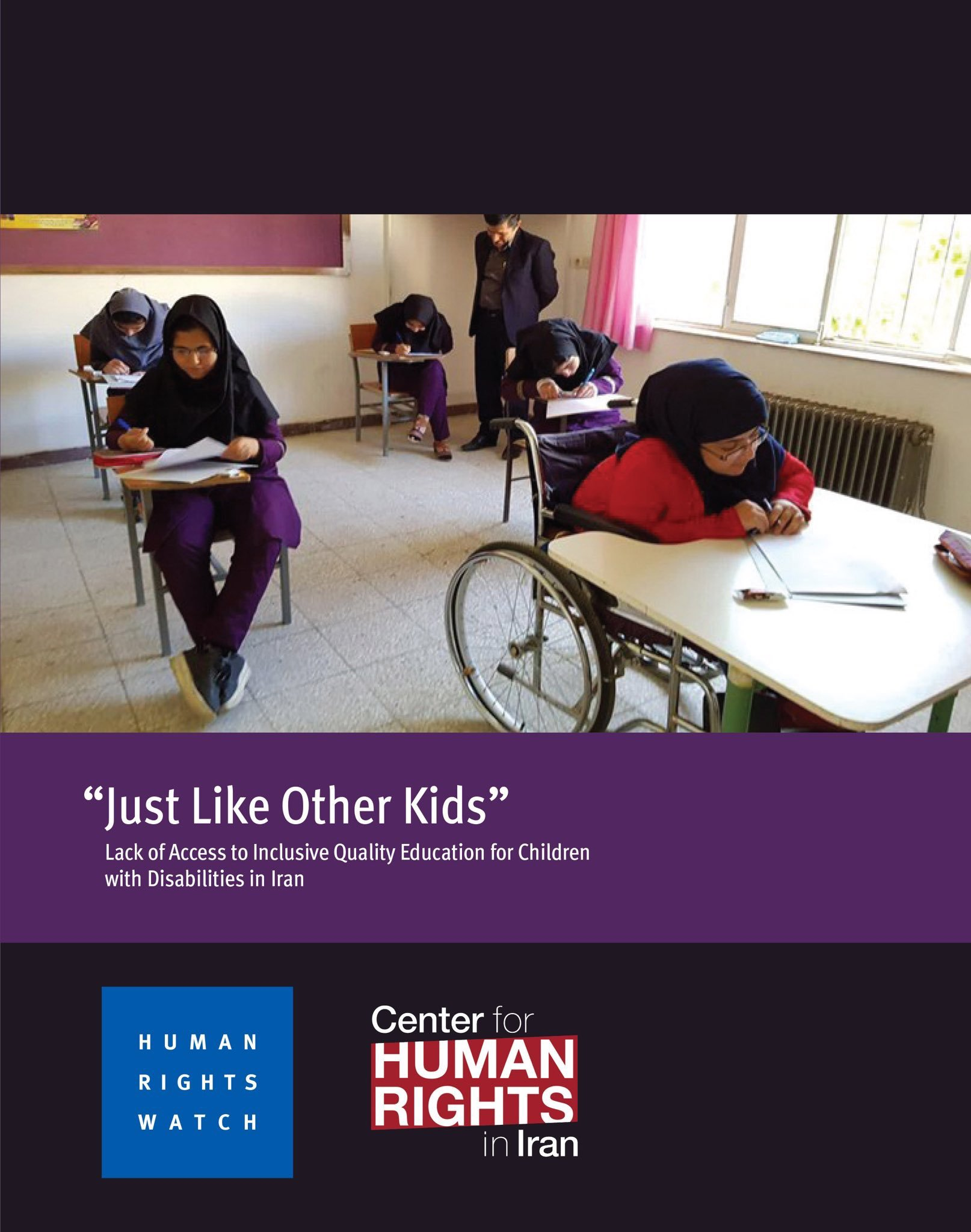 'Just Like Other Kids': Lack of Access to Inclusive Quality Education for Children with Disabilities in Iran